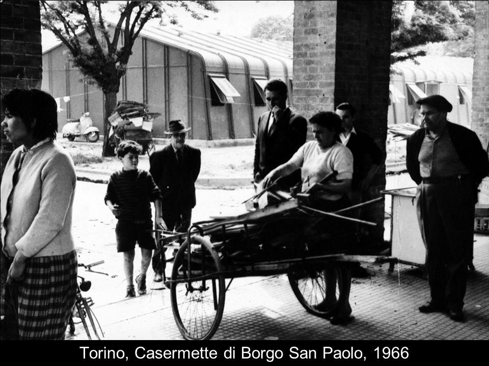 Torino, Casermette di Borgo San Paolo, 1966