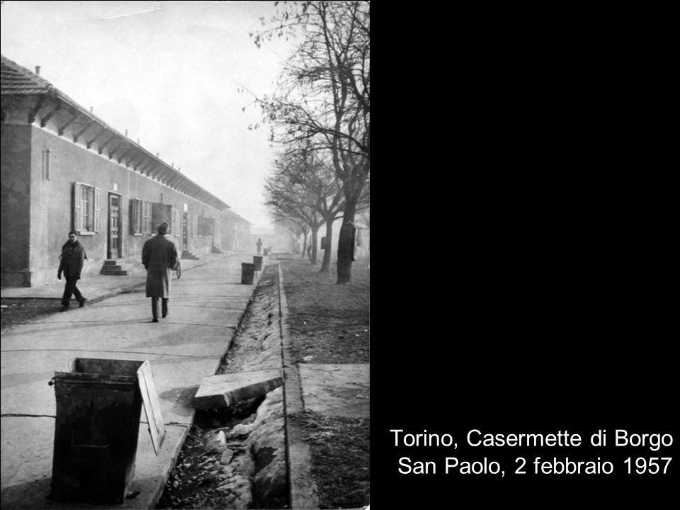 Torino, Casermette di Borgo San Paolo, 2 febbraio 1957