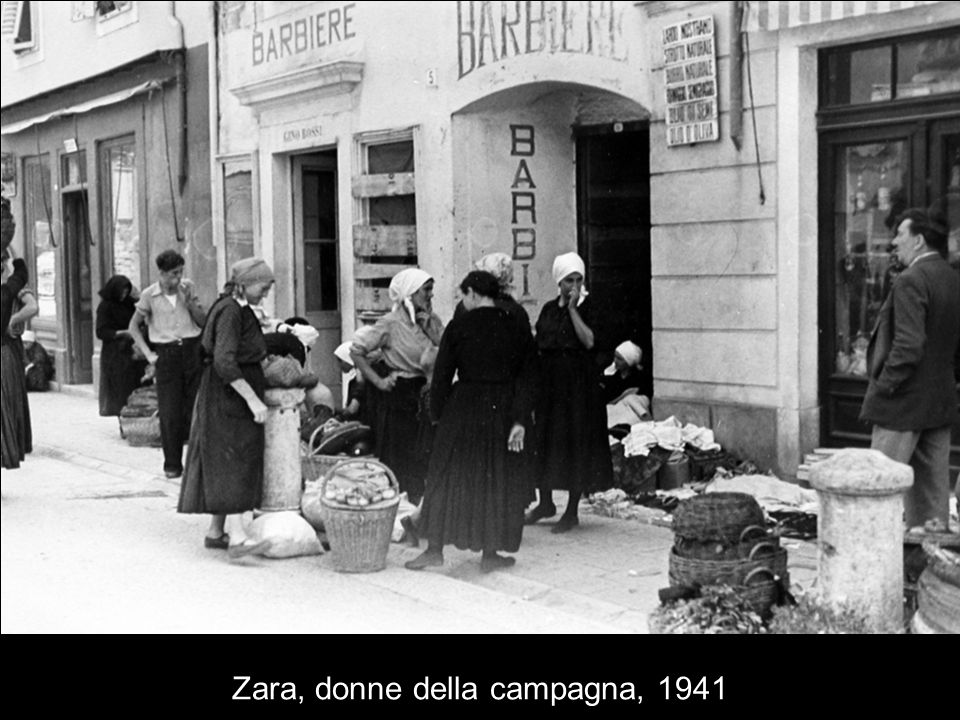Mercato a Zara, 1941