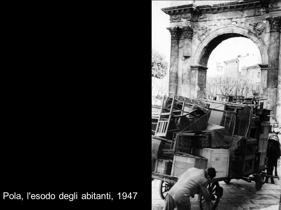 Pola, l'esodo degli abitanti, 1947