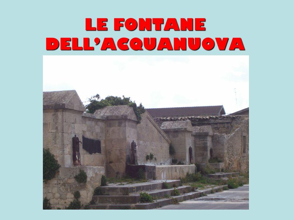 LE FONTANE DELLACQUANUOVA
