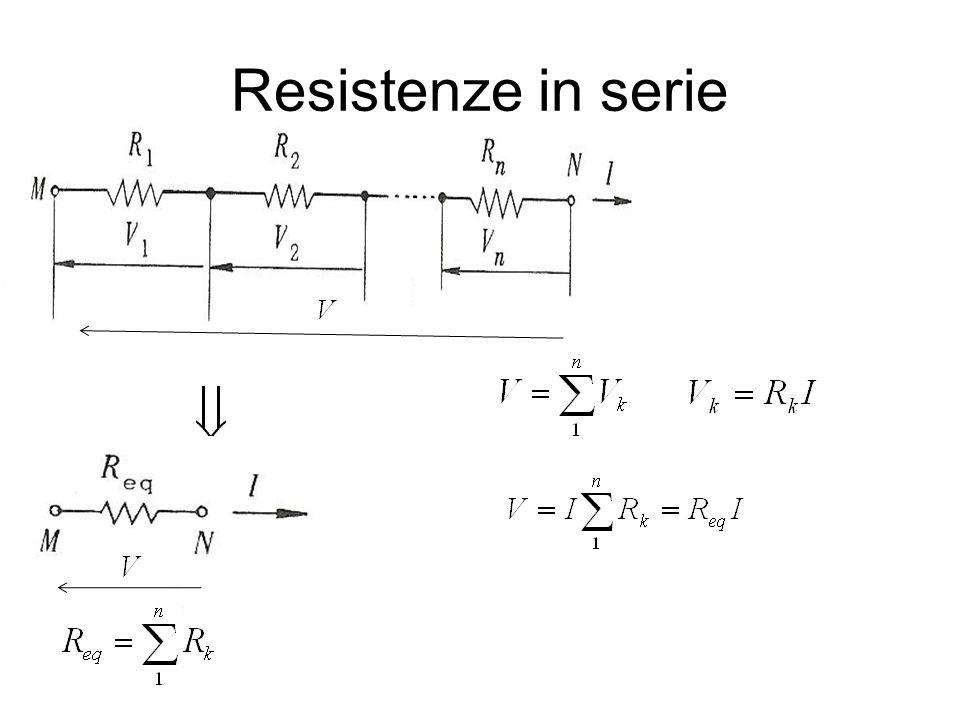 Resistenze in serie