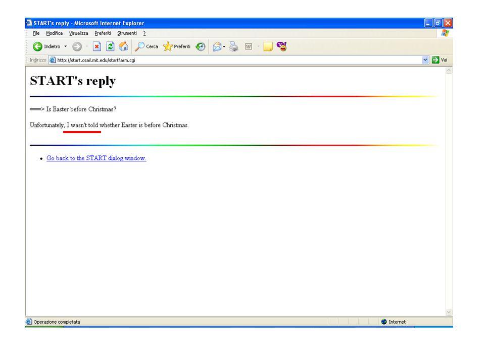 TimeML & ISO-TimeML sono due linguaggi di annotazione in grado di rendere esplicita linformazione temporale allinterno di un testo/discorso.