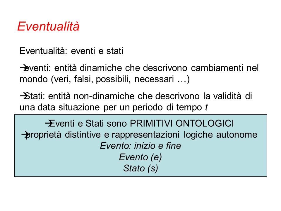 so far… Annotazione eventi (estensione) K = 0.83 Annotazione espressioni di tempo (estensione) K = 0.97 Annotazione segnalatori K = 0.89 Creazione data set per TempEval 2010 (33.000 tokens) Annotare la temporalità – verso lItalian TimeBank (2)