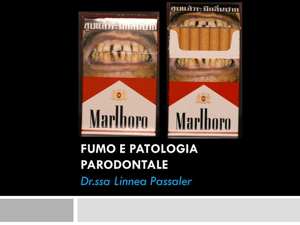 Il rischio è correlabile al consumo giornaliero di tabacco e al numero di anni in cui il paziente ha fumato: i forti fumatori (30 pack years) hanno un rischio relativo doppio di sviluppare perdita di attacco rispetto ai fumatori moderati (15-30 pack years).