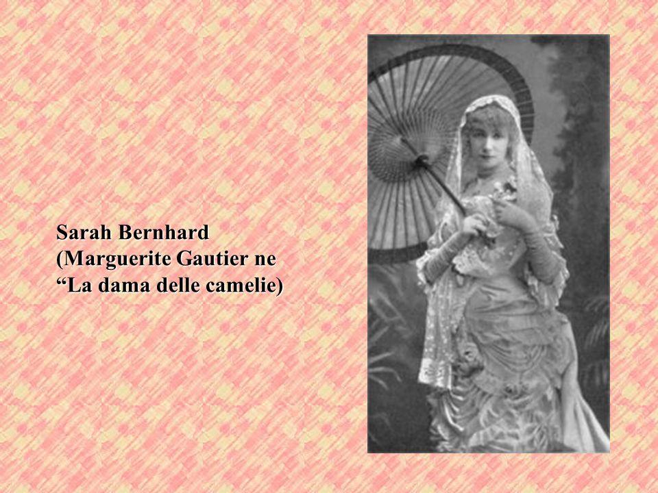 Eleonora Duse (Marguerite Gautier ne La dama delle camelie)