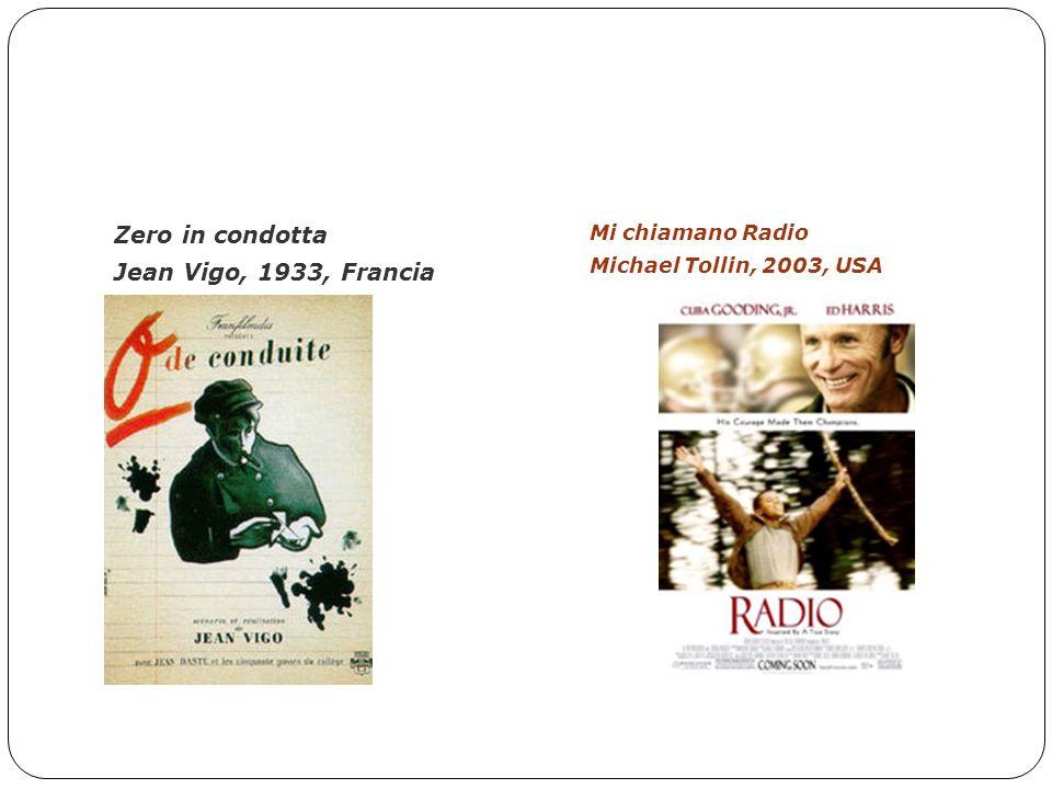 FILMOGRAFIA – Scelti per voi Zero in condotta Jean Vigo, 1933, Francia Mi chiamano Radio Michael Tollin, 2003, USA
