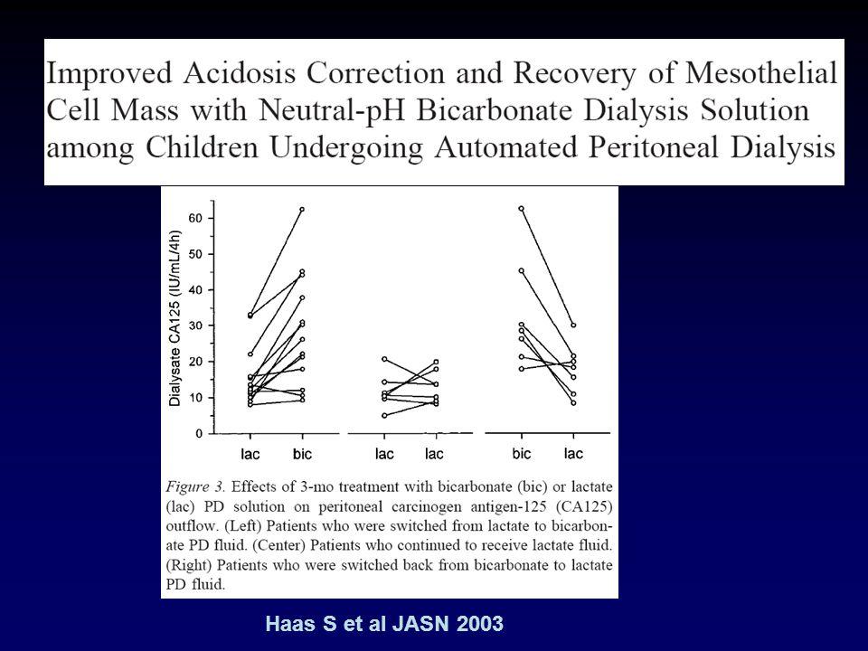 Haas S et al JASN 2003
