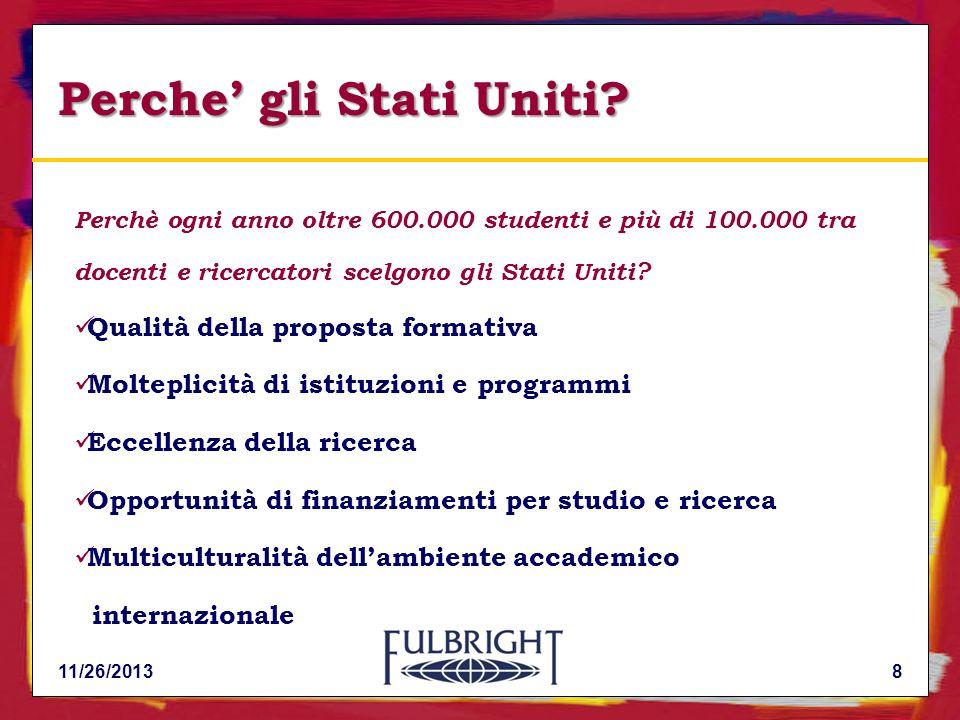 3. Borse di Studio Fulbright