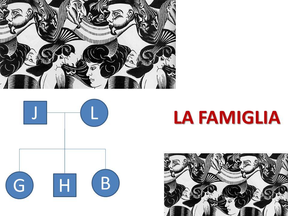 LA FAMIGLIA J L B G H