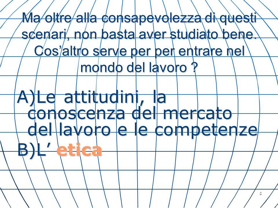 36 Tutto quanto detto sembra un metodo importante per i giovani, per la nostra Associazione e per Napoli : letica civile è una precondizione di qualunque attività lavorativa in quanto impatta con la società civile.