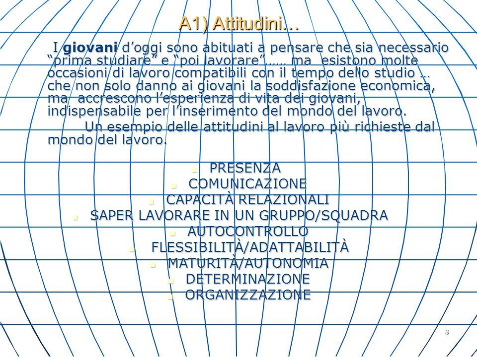29 A3) Le competenze tendono alleuropeizzazione..