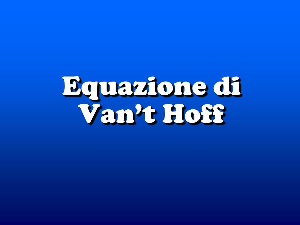 Equazione di Vant Hoff