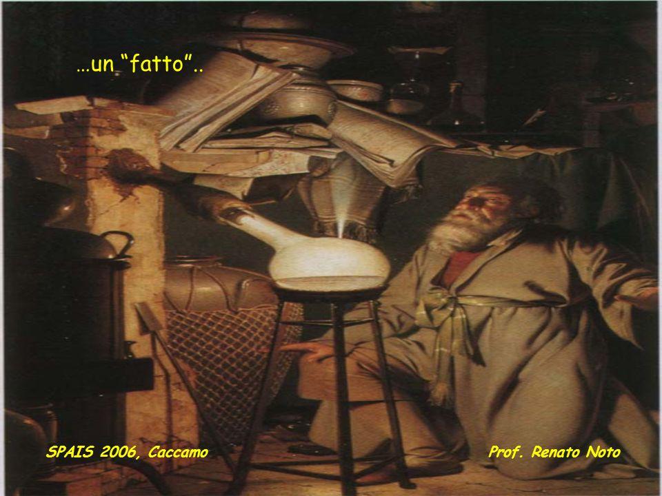 …un fatto.. SPAIS 2006, CaccamoProf. Renato Noto