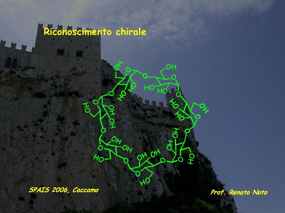 Riconoscimento chirale Prof. Renato Noto SPAIS 2006, Caccamo