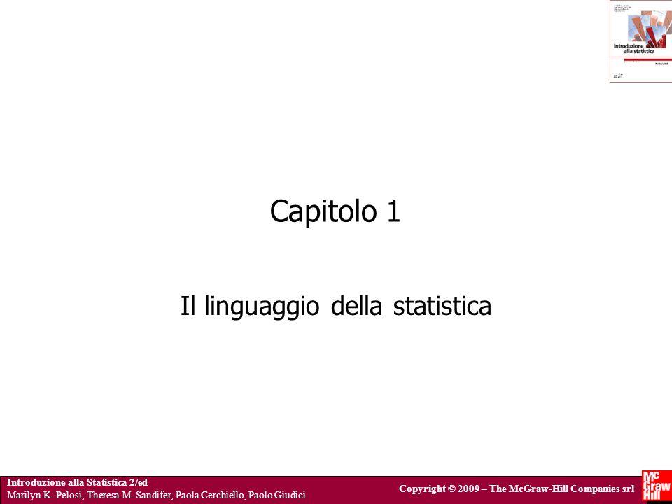 Introduzione alla Statistica 2/ed Marilyn K.Pelosi, Theresa M.