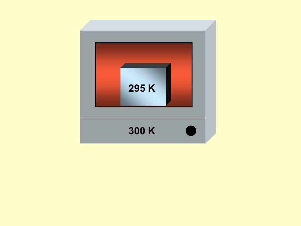 300 K 295 K