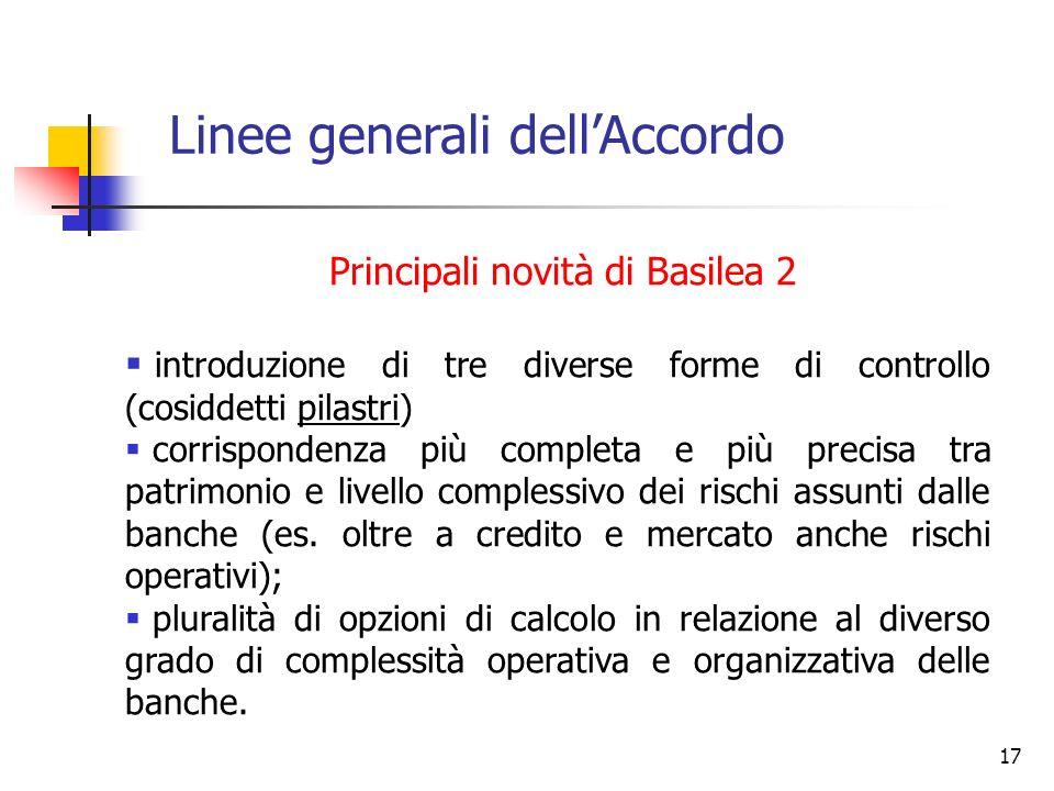16 2. LINEE GENERALI DELLACCORDO