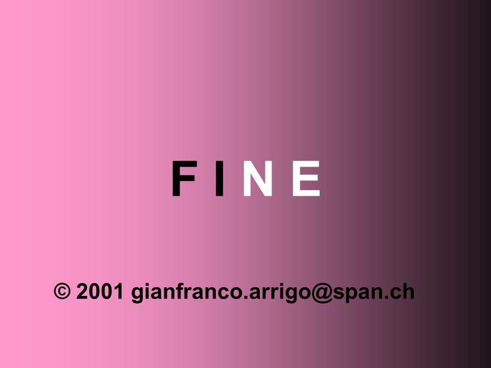 F I N E © 2001 gianfranco.arrigo@span.ch