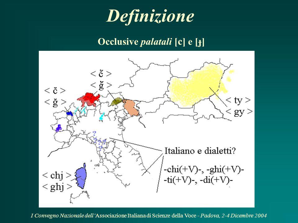 Introduzione Oggetto: risultati dell'analisi delle caratteristiche acustiche e articolatorie dei suoni palatali diffusi in alcuni dialetti piemontesi.
