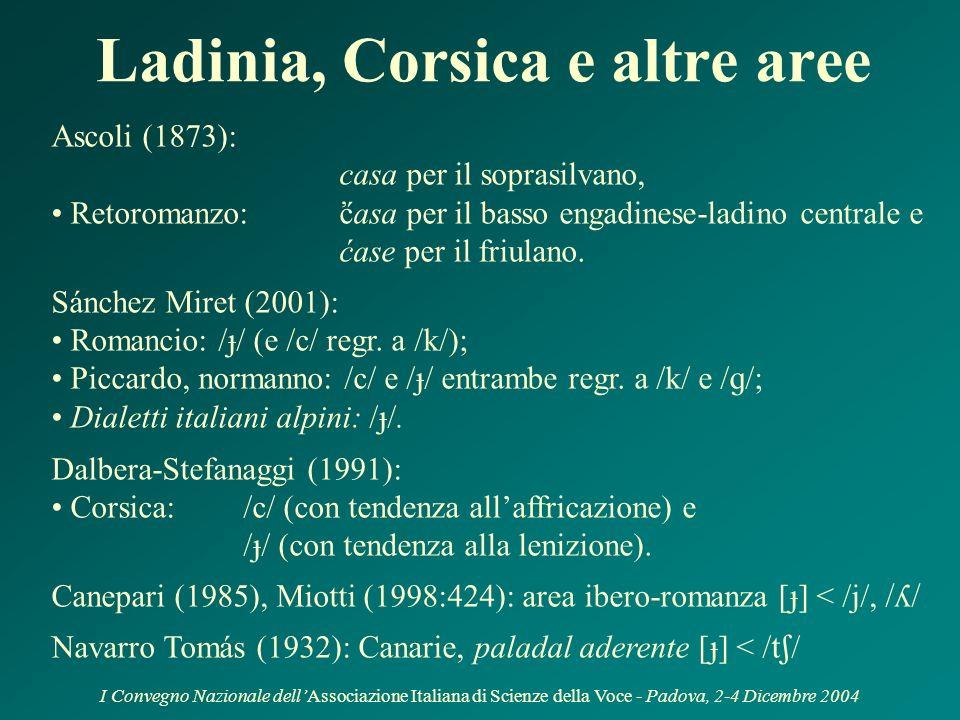 I Convegno Nazionale dellAssociazione Italiana di Scienze della Voce - Padova, 2-4 Dicembre 2004 Attestazioni in italiano (Lepschy 1965) Disputa tra F