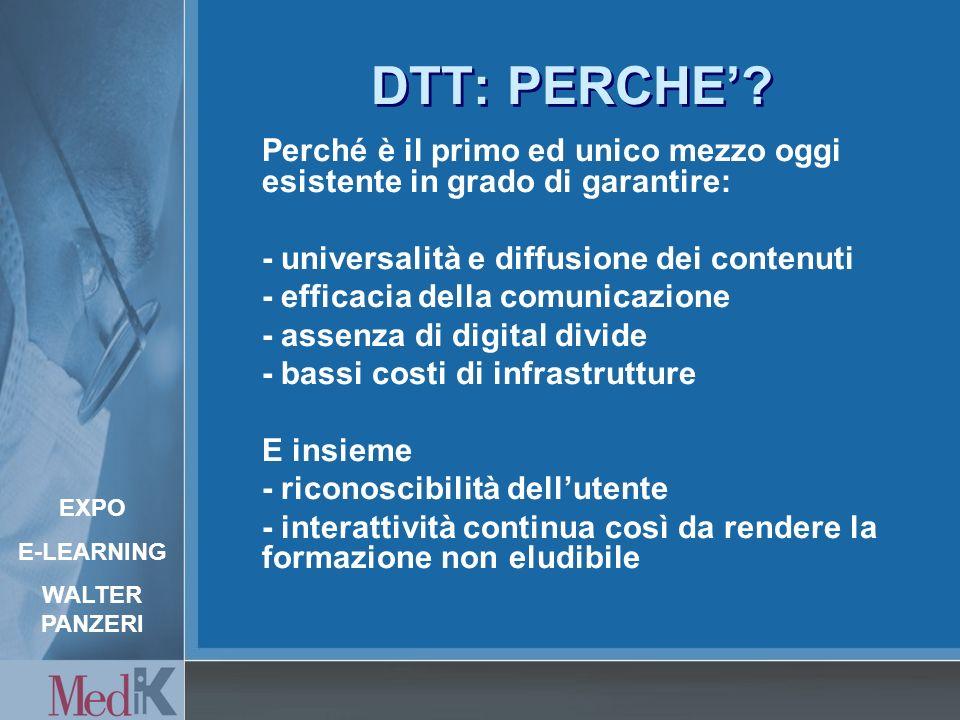DTT: PERCHE.