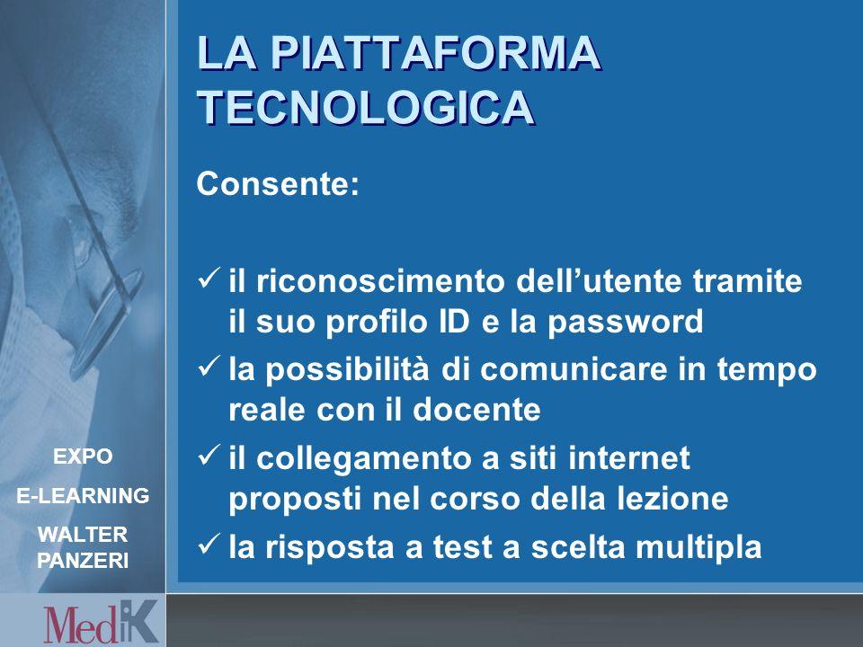 Piattaforma tecnologica Audio e Video Dati e Audio