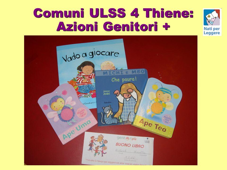 Comuni ULSS 4 Thiene: Azioni Genitori +
