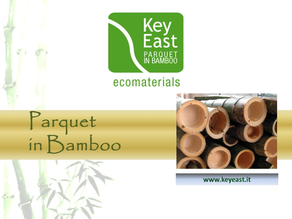 KEY EAST PARQUET in BAMBOO