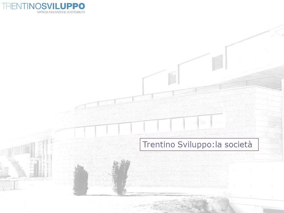 Chi siamo Trentino Sviluppo Trentino Sviluppo Spa è lagenzia creata dalla Provincia autonoma di Trento per affiancare imprese e stakeholder locali in un percorso di crescita e promozione del Trentino come terra di business e ricerca.