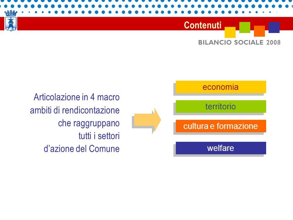 BILANCIO SOCIALE 2008 risultati Risultati Ottenuti riconoscimenti a livello nazionale: inserimento da parte del Ministero per l innovazione e la P.A.