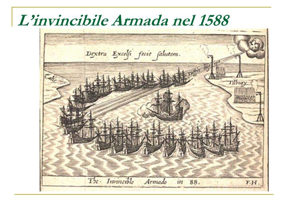 Linvincibile Armada nel 1588