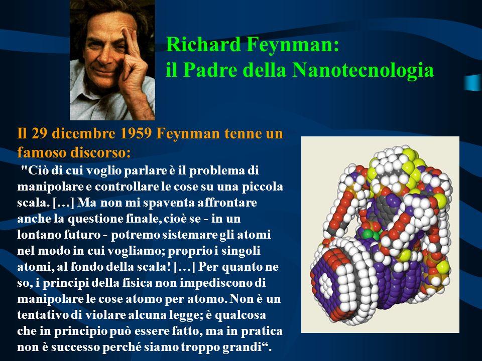Il 29 dicembre 1959 Feynman tenne un famoso discorso: