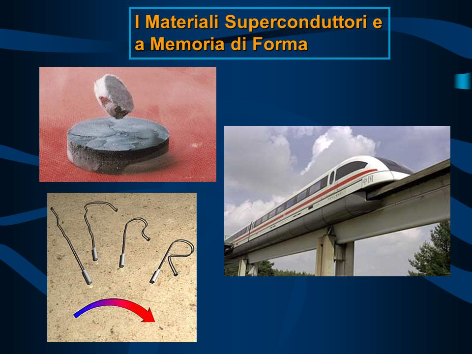 I Materiali Superconduttori e a Memoria di Forma