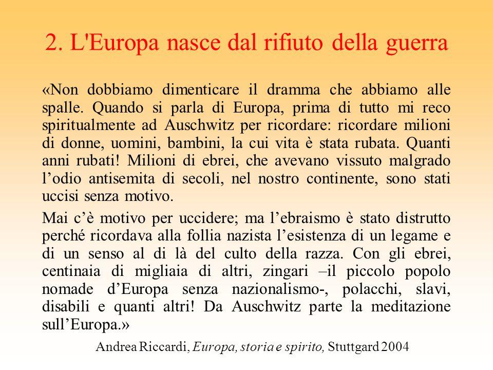 per questo Carlomagno ha fallito Il primo grande tentativo di costruzione dell'Europa è posto [in genere] sotto il segno di Carlomagno, il cui effimer