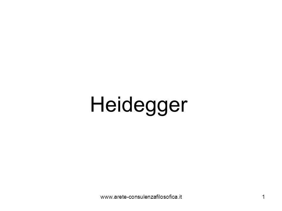 1 Heidegger www.arete-consulenzafilosofica.it