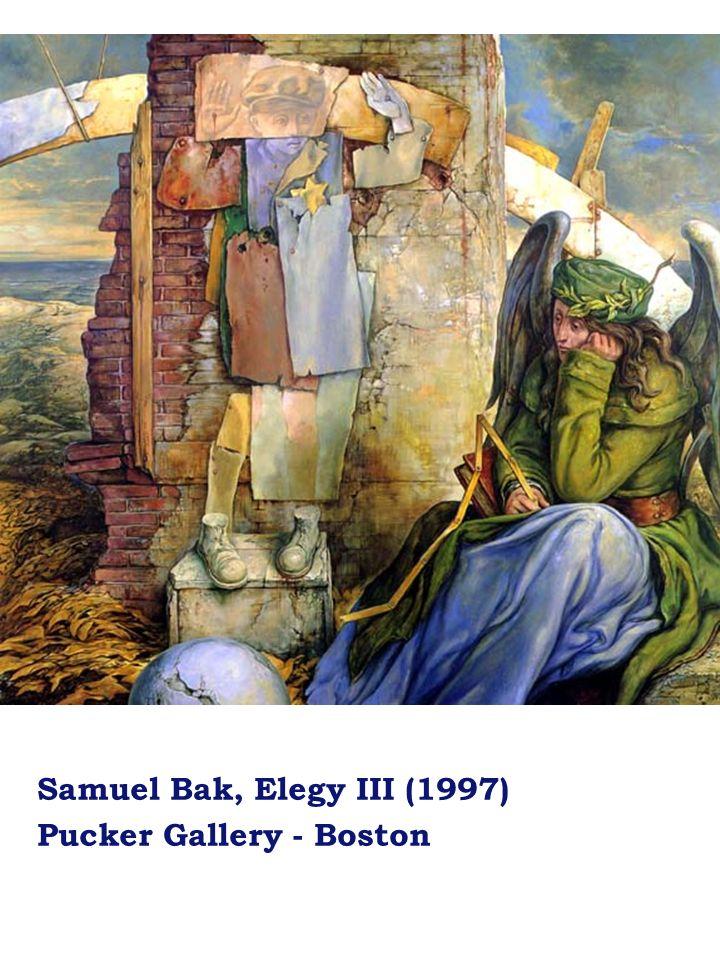 Samuel Bak, Elegy III (1997) Pucker Gallery - Boston