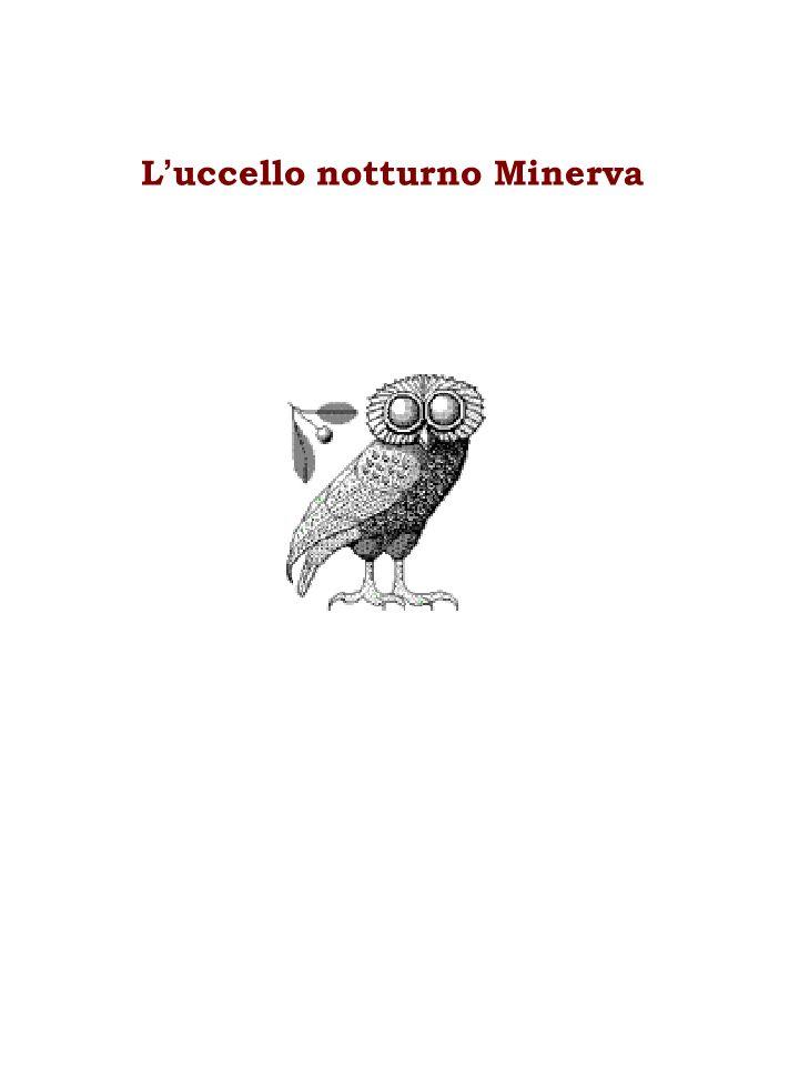 L uccello notturno Minerva
