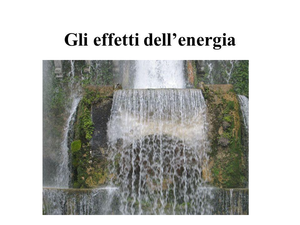 Gli effetti dellenergia