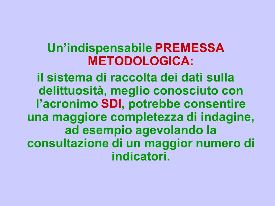 Landamento della criminalità ufficiale in Liguria: il quinquennio 2004-2008 di Stefano Padovano Regione Liguria ASSESSORATO ALLA SALUTE E ALLE POLITIC