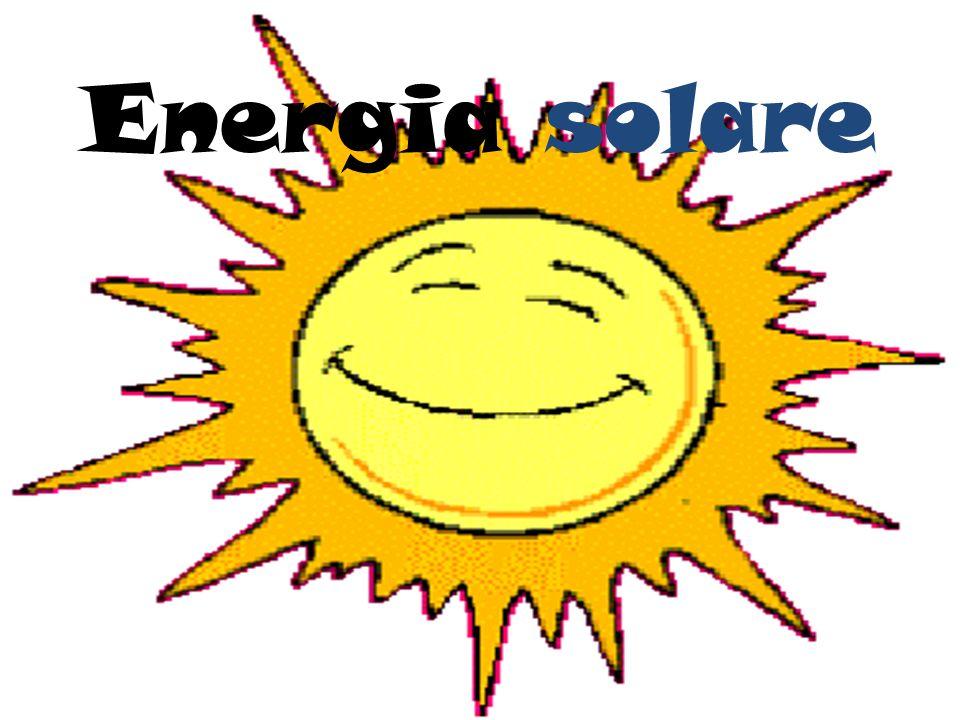 Principio di funzionamento L energia del sole viene utilizzata per: 1.