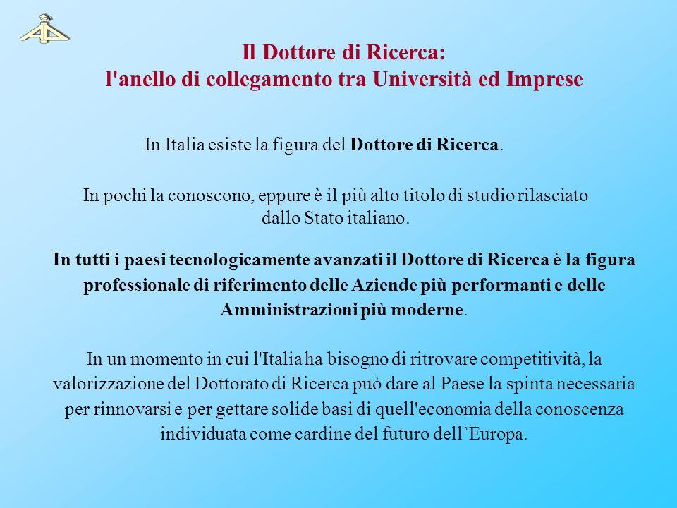 In Italia esiste la figura del Dottore di Ricerca. In pochi la conoscono, eppure è il più alto titolo di studio rilasciato dallo Stato italiano. In tu