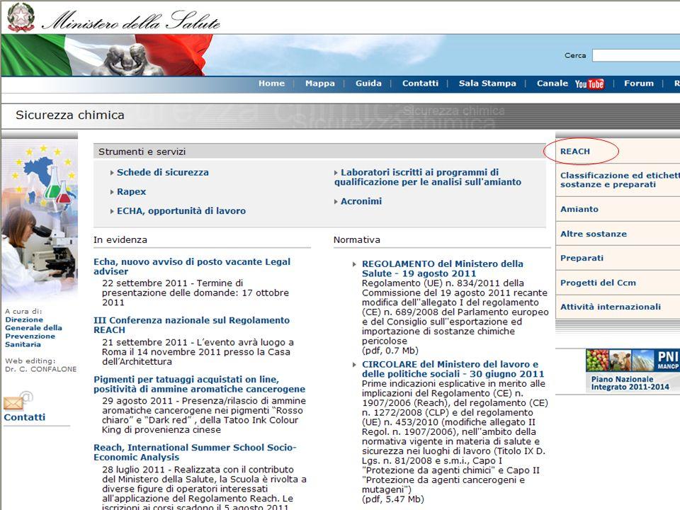 Eurobarometer 360 Ricerca sulla comprensione del consumatore delle etichette e del corretto uso dei prodotti chimici promossa dalla Commissione Europea per fare una prima verifica sulla conoscenza dei consumatori dei prodotti chimici.