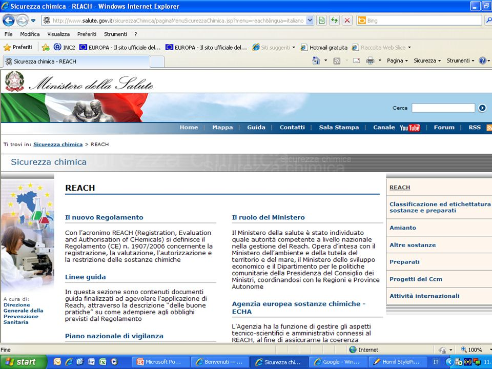 Ministero dello sviluppo economico http://www.sviluppoeconomico.gov.it/ Inserire home page Inserire home page