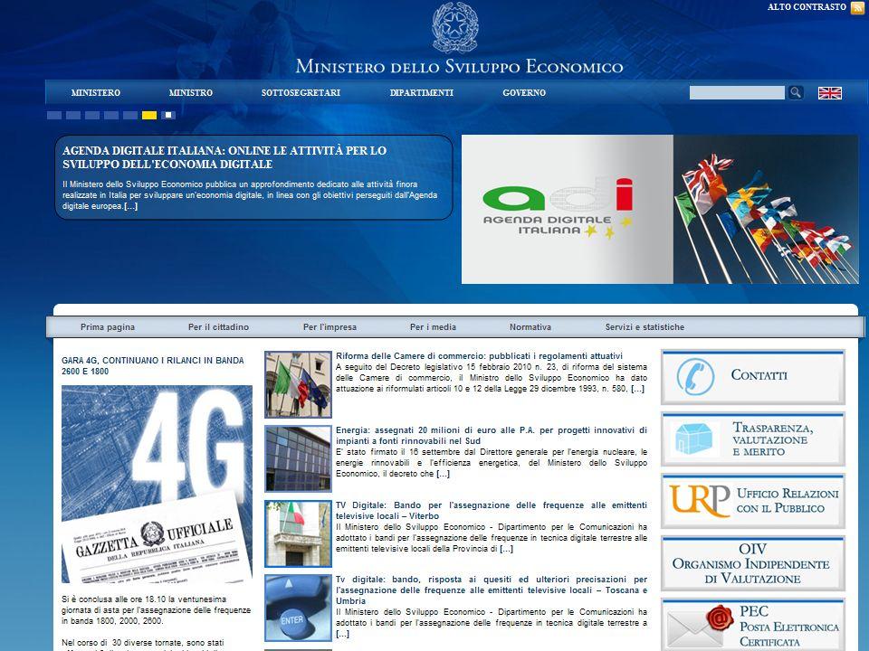 http://www.minambiente.it Ministero dellambiente e della Tutela del Territorio e del Mare http://www.minambiente.it