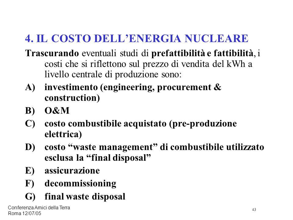 43 Conferenza Amici della Terra Roma 12/07/05 4.