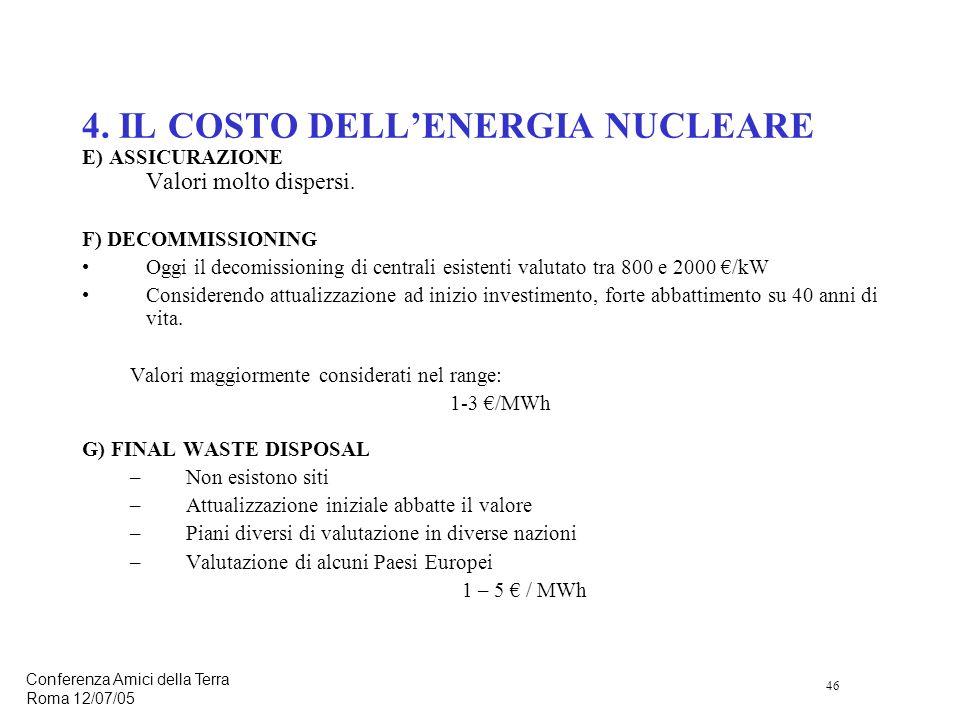 46 Conferenza Amici della Terra Roma 12/07/05 4.
