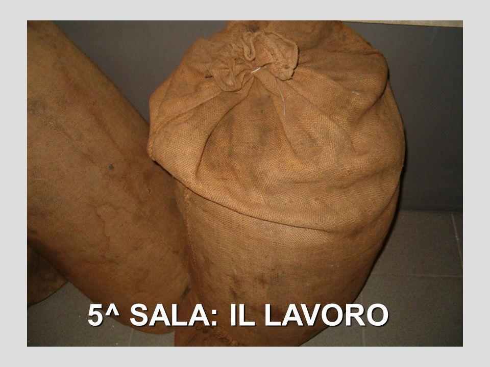 5^ SALA: IL LAVORO