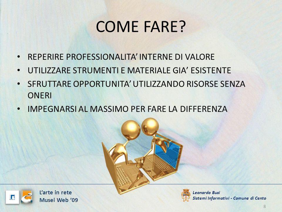 I NUMERI ONLINE DA SETTEMBRE 2009 1000 SCHEDE DI OPERE CONSULTABILI: DESCRIZIONI, DIMENSIONI, DATE, MATERIALI ETC..
