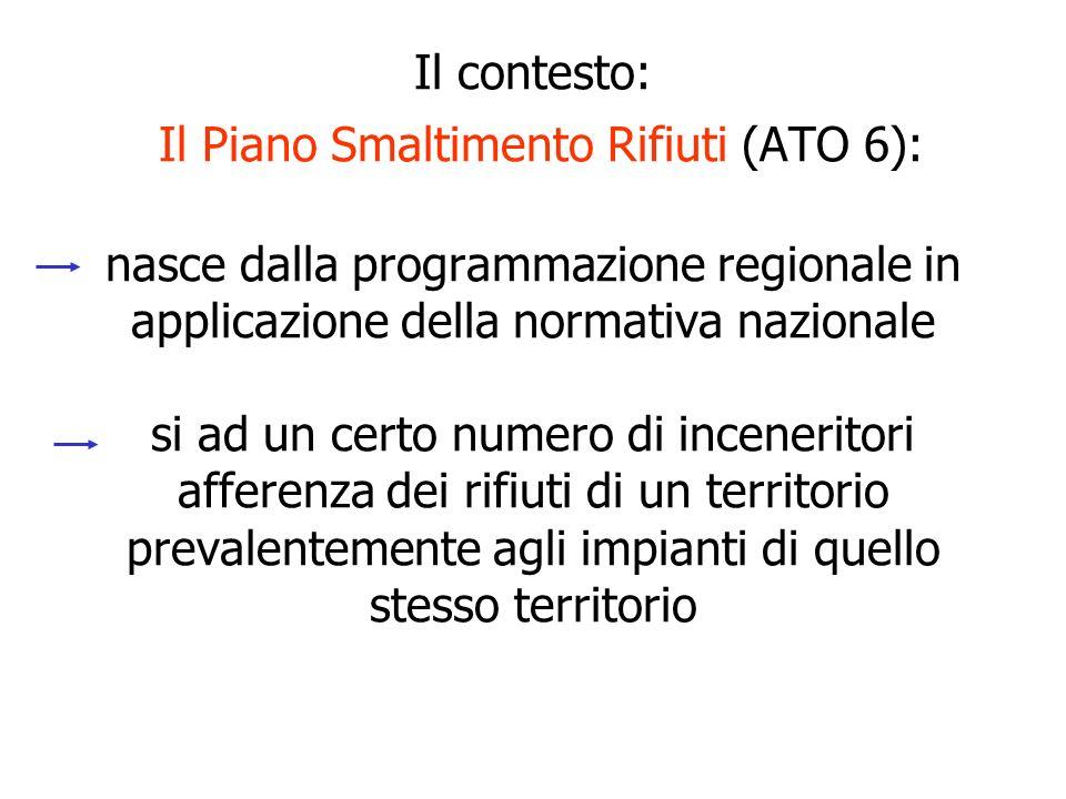 Analizza tre siti (Osmannoro, Ponte Maccione, Case Passerini), tutti collocati nella Piana di Firenze-Sesto- Prato Sceglie un sito (Osmannnoro) qui si è inserita la VIS